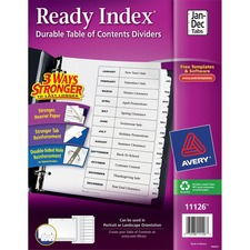 Ready Index Binder