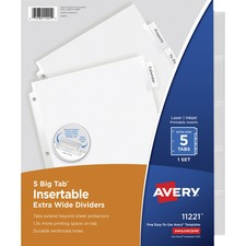 Big Tab Extra-Wide